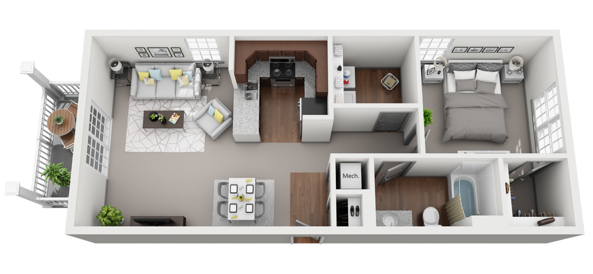 ACappella C Floor Plan