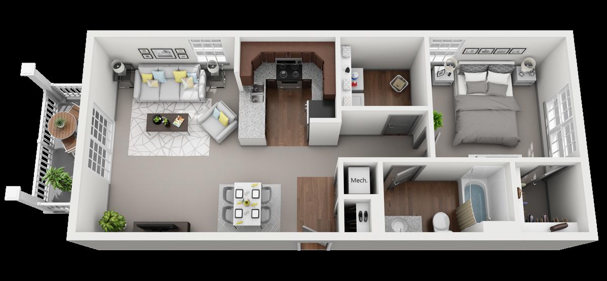 ACappella C Floor Plan