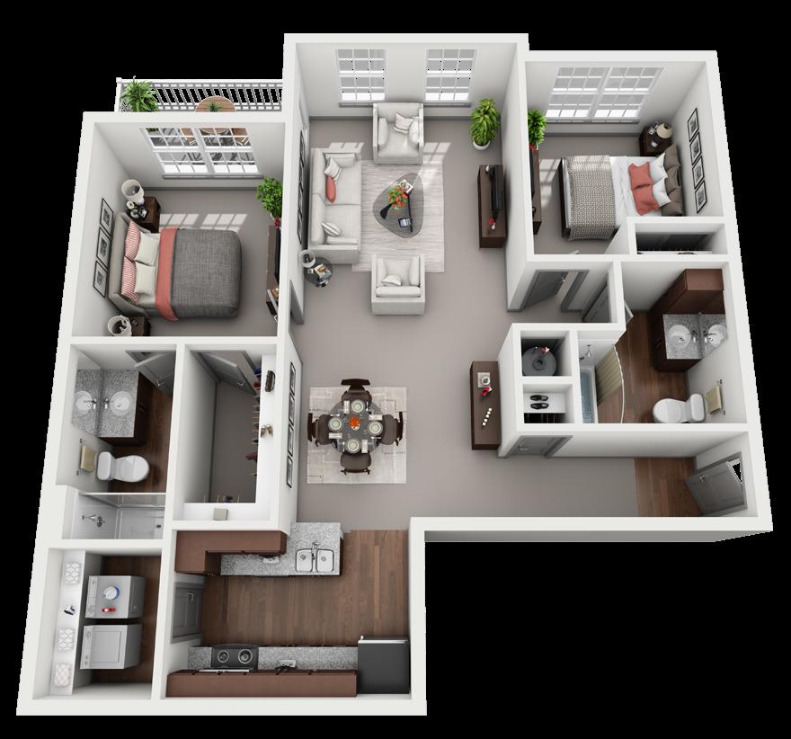 Duet Floor Plan